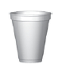 8 Oz Hot Or Cold Styrofoam Cup