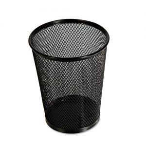 pencil cup holder black mesh each