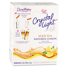 Crystal Light Iced Tea packet