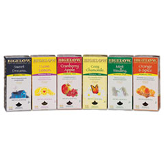 Assorted Tea - 6 Flavors 28 bags per box