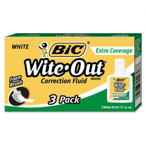 white out liquid 3 pack