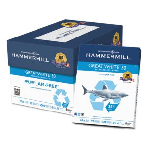 paper- copy letter 5000 ct. Hammermill