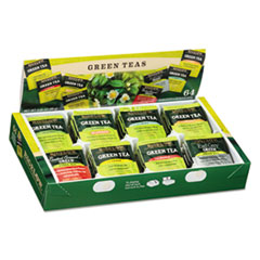 Assorted Tea - 8 Flavors 64 Individual Tea Bags