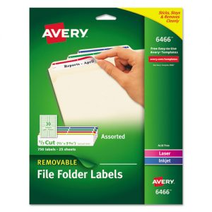 labels avery 6466 .66x3.44