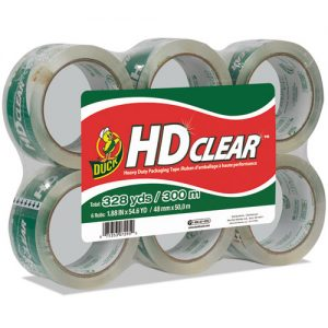 tape carton sealer hvy duty 6 pack
