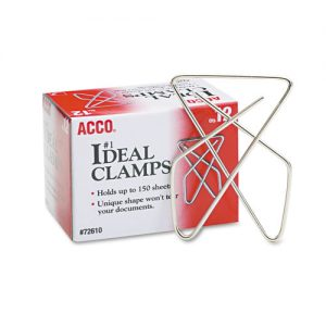 paper clip clamps large 12 ct.