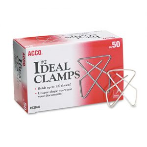 paper clip clamps small 50 ct.