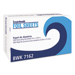 "Aluminum Foil Pop-Up Sheets - Standard Aluminum Foil 9"" by 10.75"" Sheets"