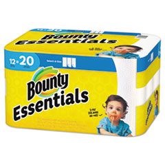 Bounty Essentials Select a Size Kitchen Paper Towel - 12 Rolls