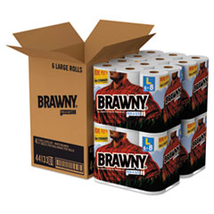 Brawny Select a Size Kitchen Towel - 24 Rolls