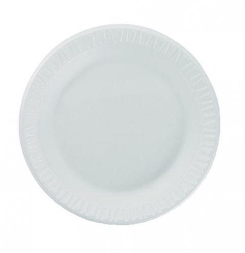 "Concorde, Foam Plate, 9"", WHITE (500/CS)"