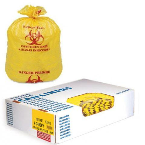 Liners LD Style 40x47 # 1.25mil Yellow (Roll)