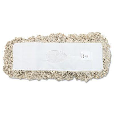 Industrial Dust Mop Head White 18""