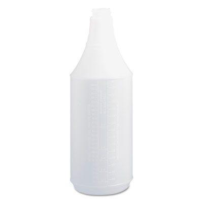 Embossed Spray Bottle Clear 32oz