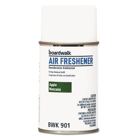 Air Freshener Metered, Aerosol Refill Can, Apple Scent, 5.3oz