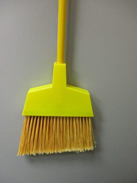 Angled-Head Broom 42""