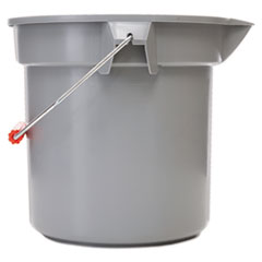 14 quart Grey Plastic Bucket