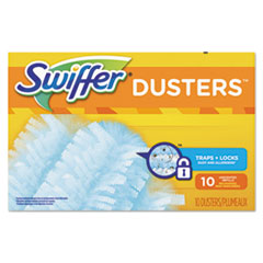 Swiffer Refill Dusters, Dust Lock Fiber, Light Blue, Unscented
