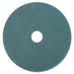 "Aqua Burnishing Floor Pads, 17"" Diameter, 5/Carton"