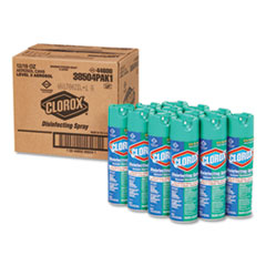 Disinfecting Spray, Fresh, 19oz Aerosol Can