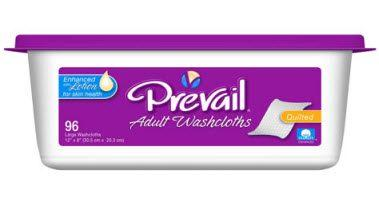 "Prevail Washcloths, Premium, 8""x12"""