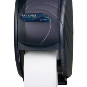 Dispenser (Universal) For Standard Toilet Tissue Twin Roll Side-By-Side