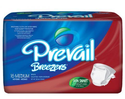 Prevail Breezer Adult Briefs (Medium)