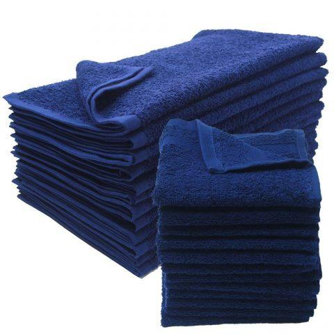 "100% Cotton Hand Towel (Blue) 16""x 27"" 3.0lb"