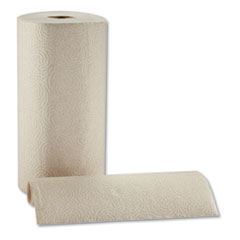 Pacific Blue Kitchen Paper BROWN Towel - Large Rolls 250 Sheets per Roll