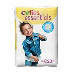Cuties Baby Diapers, Size 6 CR6001