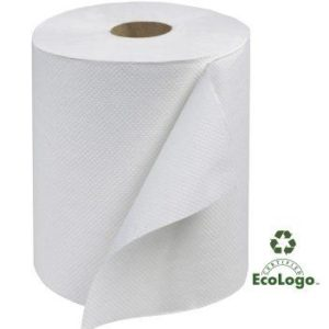 Towels Hardwound White 8in x 600ft RB6002
