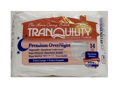 Tranquility Premium OverNight Disposable Underwear Small 2114