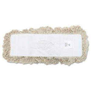 "Industrial Dust Mop Head White 18"" BWK1318"
