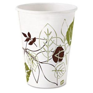 Dixie Pathways wax-treated Paper Cups for Cold Beverages 58PATH