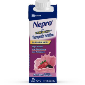 NEPRO Oral Supplement with Carbsteady, Mixed Berry 8oz 64796