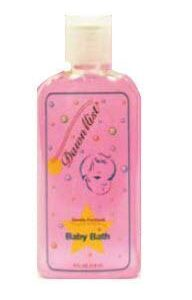Dukal Dawn Mist Baby Bath with Dispensing Cap, 4 oz Bottles BB4524 Case of 96