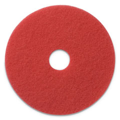 """Buffing Pads, 20"""" Diameter, Red 404420 Box of 5"""