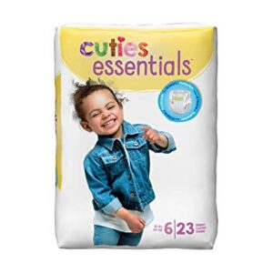 Cuties Baby Diapers, Size 6 CR6001 Pack of 23