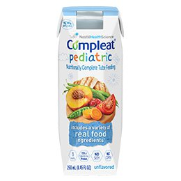 Nestle Compleat Pediatric Tube Feeding Formula, Real Food Ingredients - 14240000 Case of 24