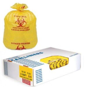 Liners LD Style 40x47 # 1.25mil Yellow Roll LN200 Case of 150