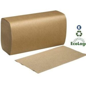 Single Fold Towel Brown SK1850A Case of 16