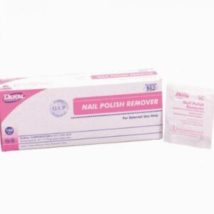 Dukal Nail Polish Remover Pads 862 Case of 1000