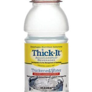 Thick It AquaCareH2O Honey Consistency, Pre-Thickened Water, 8oz B453-L9044 Case of 24