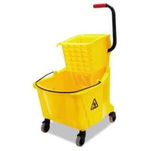 Side-Squeeze Mop Wringer/Bucket Combo 8.75gal BWK2635COMBOYEL