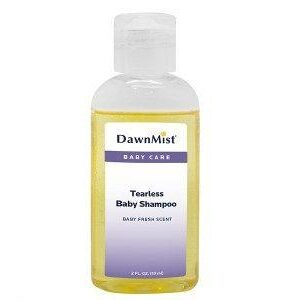 Dawn Mist Tearless Baby Shampoo with Dispensing Cap, 16 oz. Bottle, TS4500 Case of 12