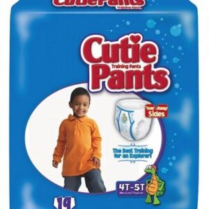 Cuties Boy Training Pants, 4T/5T 38+ lbs CR9007 Pack of 19