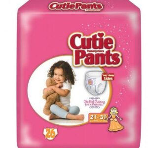 Cuties Girl Training Pants, 2T/3T up to 34lbs CR7008 Case of 104
