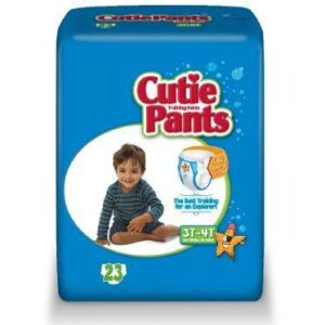 Cuties Boy Training Pants, 3T/4T 32-40lbs CR8007 Pack of 23