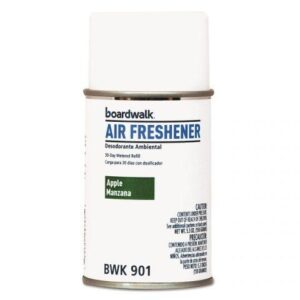 Air Freshener Metered, Aerosol Refill Can, Apple Scent, 5.3oz BWK901 Case of 12