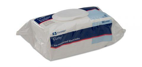 Curity Pre-moistened Washcloths 5399SP Case of 768